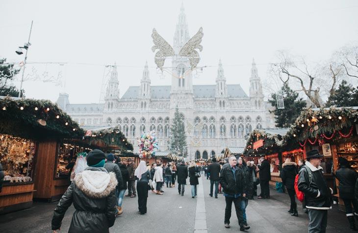 Місця для роботи й відпочинку у Відні